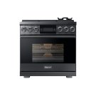"36"" Pro Gas Range, Silver Stainless Steel, Liquid Propane Product Image"