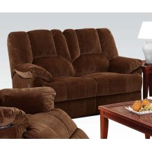 Loveseat w/Power Motion