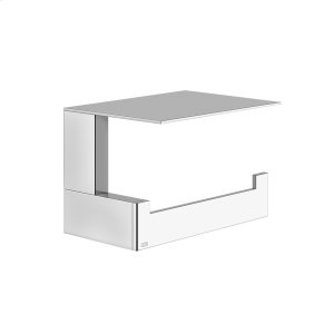 Wall-mounted tissue holder with cover Product Image