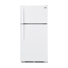 Haier 18.1-Cu.-Ft. Top Mount Refrigerator - smooth-white