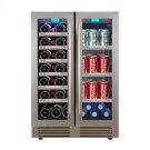 French Door Wine Chiller / Beverage Cooler Product Image