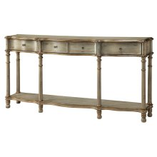 Victoria 3 Drawer Console Table