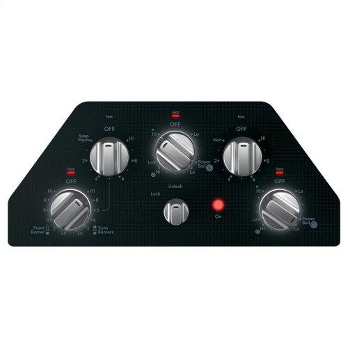 "Café 36"" Knob-Control Electric Cooktop"