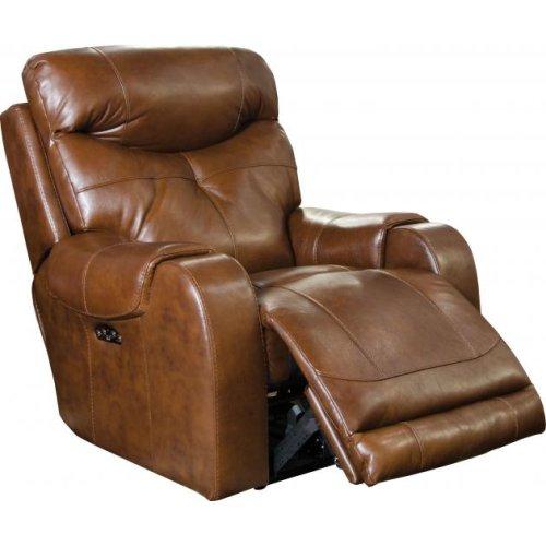 Power Headrest Lay Flat Recliner