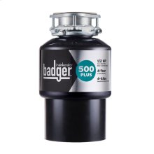 Badger 500 Plus Garbage Disposal, 1/2 HP