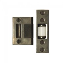 Roller Latch Door Guard Silicon Bronze Brushed
