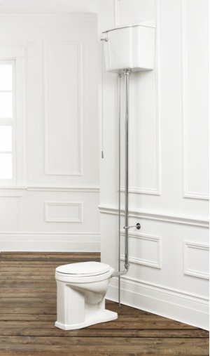HIGH TANK Toilet-Round Front High Tank Toilet Product Image