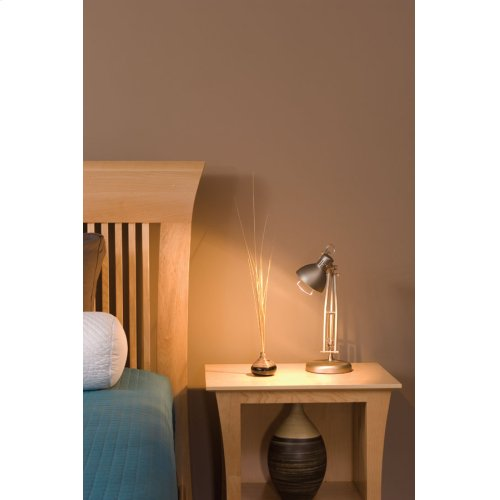 Loft Nightstand with Opening
