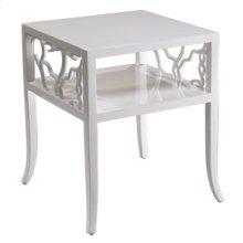 Cotton White Twig End Table