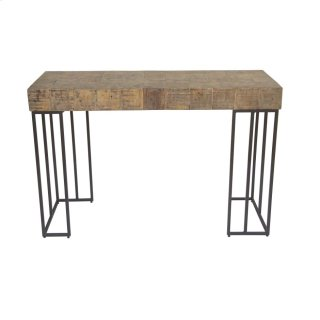 Crosscut Sofa Table