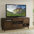 Vogue - 66-inch TV Console - Plymouth Brown Oak Finish Product Image