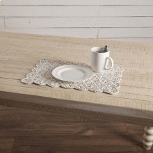 Carol Quilted Placemat Set of 6 12x18