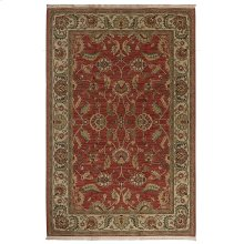 Ashara Agra Red Rectangle 5ft 9in x 9ft