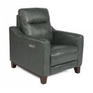 Forte Leather Power Recliner with Power Headrest Product Image