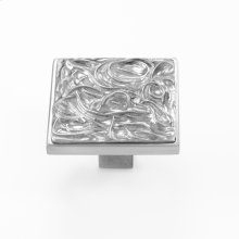 Solid Satin Pewter Cabinet Pull - 139