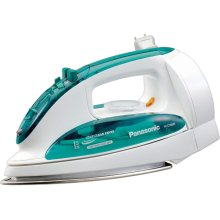 Steam/Dry Iron with Curved Stainless Steel Soleplate