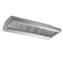 """60"""" Stainless Steel Built-In Range Hood with iQ12 Blower System, 1200 CFM"""