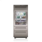 "36"" PRO Refrigerator/Freezer with Glass Door Product Image"