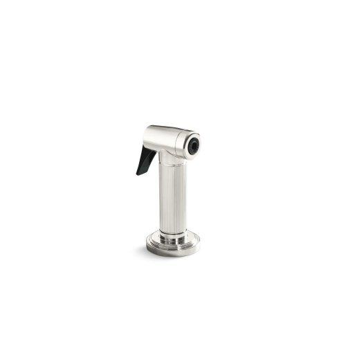 Kitchen Sidespray - Nickel Silver