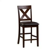 X Back Counter Chair- Qty 1