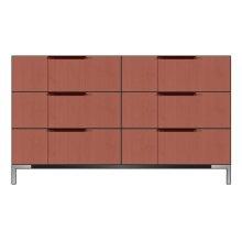 "56"" 6-Drawer Dresser"
