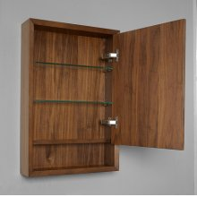 "m4 20"" Medicine Cabinet - right - Natural Walnut"