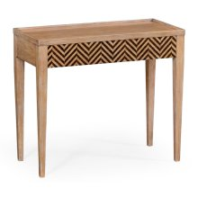 Classic Julian Herringbone console (Tan tweed)