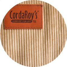 Cover for Pillow Pod or Footstool - Corduroy - Khaki