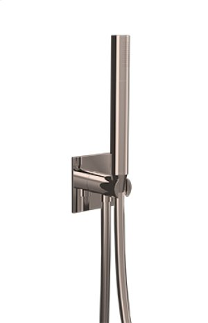 Flexible Hose Shower Kit/w Integrated Water Outlet - Brushed Nickel Product Image