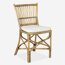 Boda Rattan Side Chair - Honey (MOQ: 2) (package: 2pcs/box) price is per piece