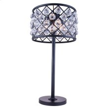 1206 Madison Collection Table Lamp Mocha Brown Finish