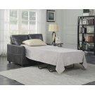 Emerald Home Slumber Twin Sleeper W/gel Foam Mattress Charcoal U3215-33-23 Product Image