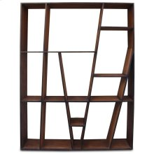 BURTON BOOKCASE  Reclaimed Walnut Finish on Mango Wood with Iron Frame