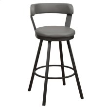Swivel Pub Height Chair, Gray