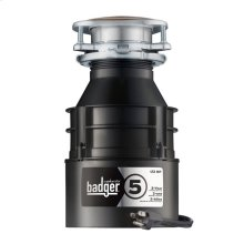 Badger 5 Garbage Disposal with Cord, 1/2 HP
