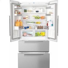 KFNF 9955 iDE maximum convenience thanks to generous large capacity and ice maker.