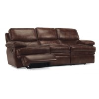 Dylan Leather Reclining Sofa Product Image