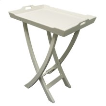 Chedi Tray Table - Wht