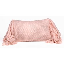 Afrino Wool Blush Pillow