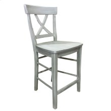 Banff X-Back Counter Stool