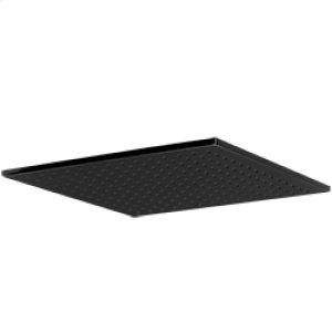 "12"" Square Shower Rainhead - Black Product Image"