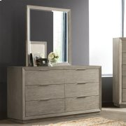 Zoey - Mirror - Urban Gray Finish Product Image