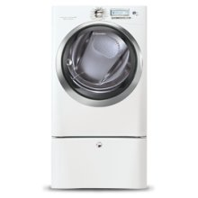 8.0 Cu. Ft. Electric Front Load Dryer with Wave-Touch® Controls featuring Perfect Steam