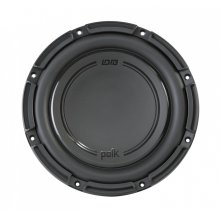 "DB+ Series 10"" Dual Voice Coil Subwoofer with Marine Certification in Black"