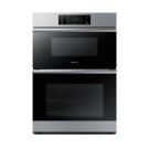 "30"" Combi Wall Oven, Silver Stainless Steel Product Image"