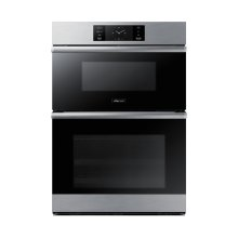 """30"""" Combi Wall Oven, Silver Stainless Steel"""