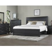 "Montana Queen Bed Headboard, Brown, 63""x2""x56"" Product Image"