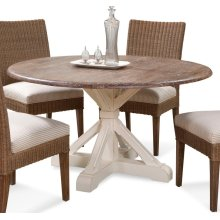 Farmhouse Round Pedestal Dining Table
