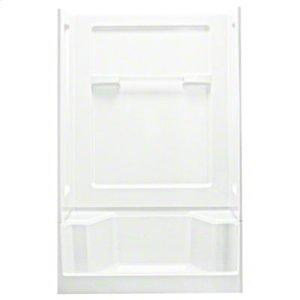 "Advantage™, Series 6203, 48"" x 34"" x 72"" Seated Shower with Age in Place Backers - White Product Image"