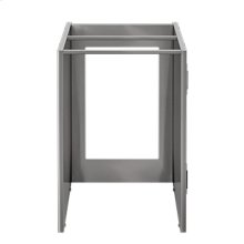 "OUTDOOR KITCHEN CABINETS IN STAINLESS STEEL  PURE 24"" Appliance Cabinet"